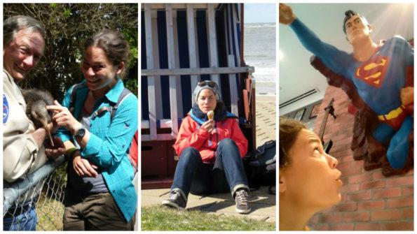 Katharina Mauder unterwegs für Inspiration, Kinderbuch, Kindermedien, Reisen
