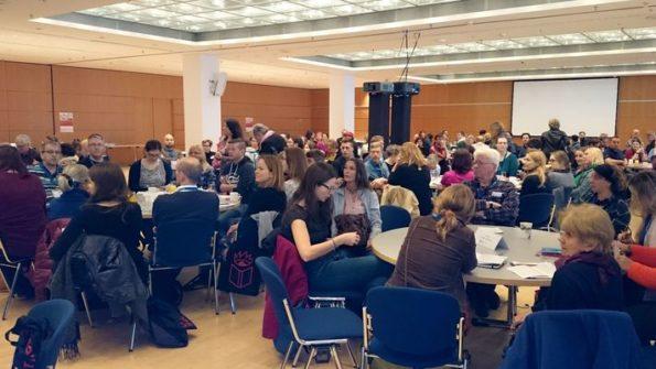 5. Leipziger Autorenrunde auf der Leipziger Buchmesse, Workshop für Autoren, Tischrunden