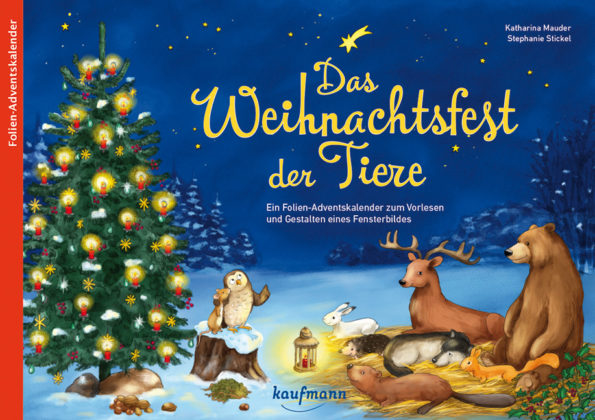 Adventskalender, Katharina Mauder, Seitenwaise Text, Stephanie Stickel, Das Weihnachtsfest der Tiere, Advent, Waldtiere