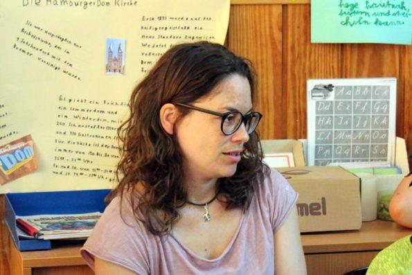 Katharina Mauder, Kinderbuchautorin, Autorin im Gespräch, Autorenbegegnung, Autorenlesung, Lesung, vorlesen