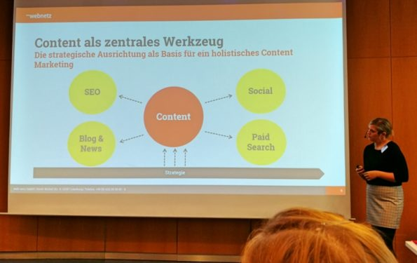 Online Marketing Konferenz Lüneburg, 2018, OMK, Anna Marquardt, Adrienne Becker, web-netz, Content Marketing
