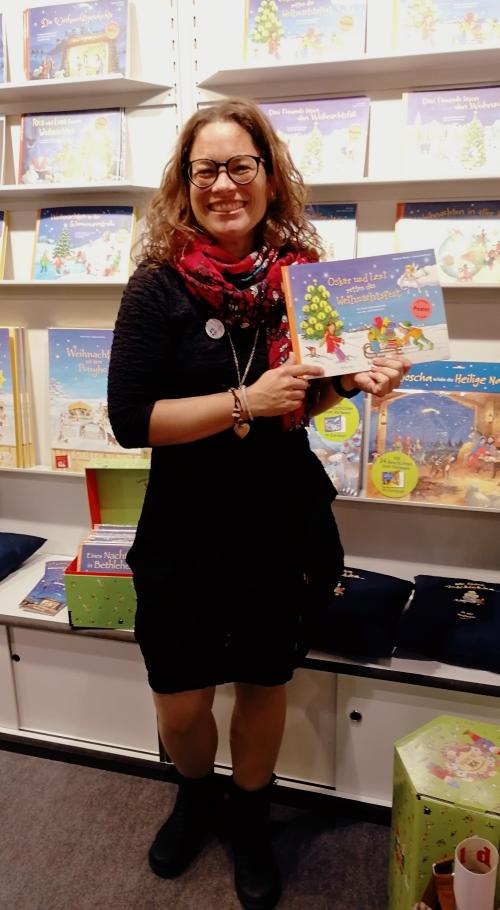 Katharina Mauder, Kinderbuch, Kinderbuchautorin, Buchmesse, Weihnachten, Adventskalender, Oskar und Leni retten das Weihnachtsfest