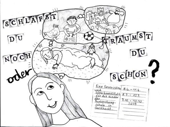 Katharina Mauder, Nadia Malverti, Schreibwerkstatt, Geschichtenwerkstatt, Schreibkurs, Schreib-Workshop für Kinder, Schule, Geesthacht, Kinderbücher, Kindergeschichten, Lesung, Kultur macht stark, Friedrich-Bödecker-Kreis