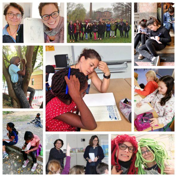 Katharina Mauder gibt Workshops für kreatives Schreiben für Kinder in Hamburg, Schreib-Kurse, Schreibkurse, Schreib-Workshops, Schreibwerkstätten, Nadia Malverti