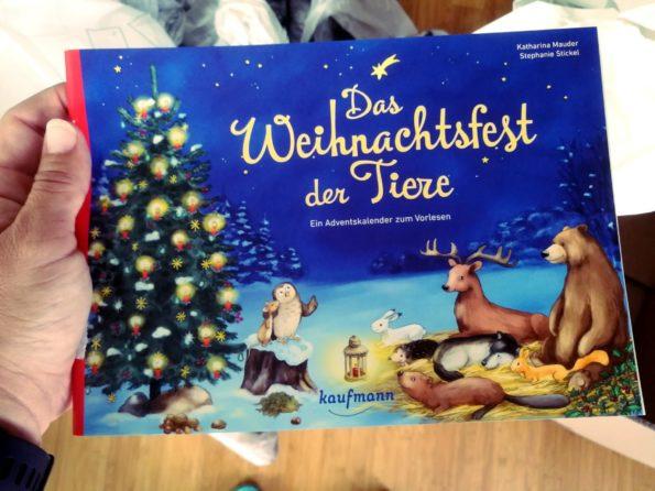 Katharina Mauder, Stephanie Stickel, Kaufmann Verlag, Das Weihnachtsfest der Tiere, Adventskalender für Kinder