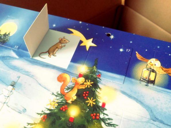 Katharina Mauder, Stephanie Stickel, Das Weihnachtsfest der Tiere, Türchen-Adventskalender für Kinder